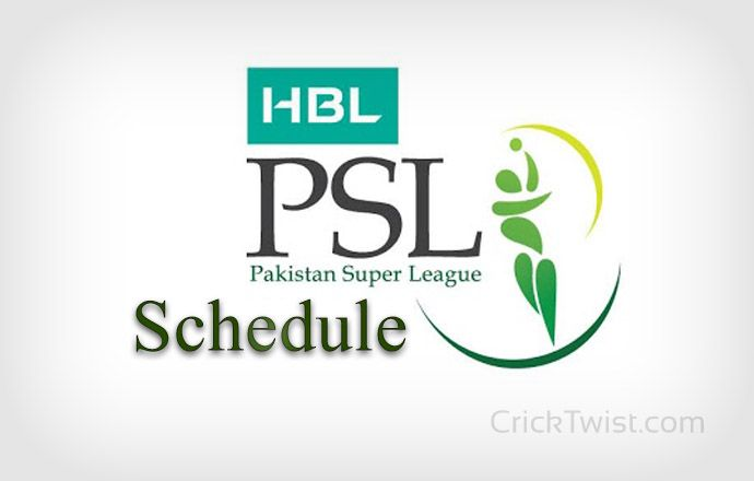 PCB Announced PSL Schedule for 2017 Time Table. Here we have Complete Details of every match include Time, Date, and Venue. Event Start from 9 Feb 2017.