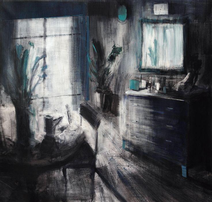 'Tondo', acrilico su tela, 100x100, 2014.