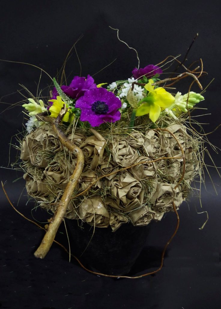 Plus de 1000 id es propos de art floral sur pinterest for Arrangement floral exterieur
