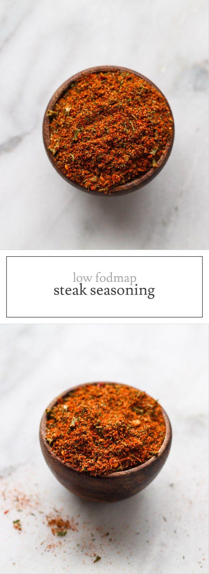 Hf ideas parrillas y asados - Low Fodmap Steak Seasoning
