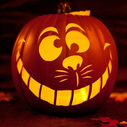 9 best pumpkin ideas images on pinterest pumpkin ideas cat cheshire cat jack o lantern pronofoot35fo Images
