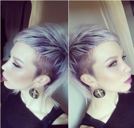 Trendige wilde Frisuren, die Aufsehen erregen! Diese 12 Kurzhaarfrisuren sehen ausgefallen aus, wirken trotzdem stilvoll! - Neue Frisur