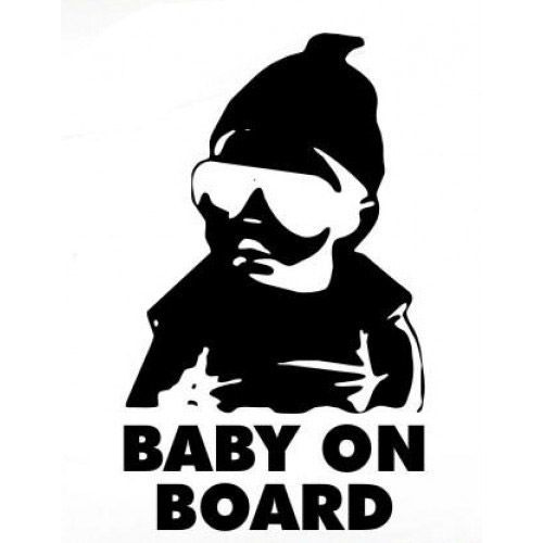 $3.50 #babyOnBoard #carlos #hangover #hungover #funnyBaby #decal #car #truck