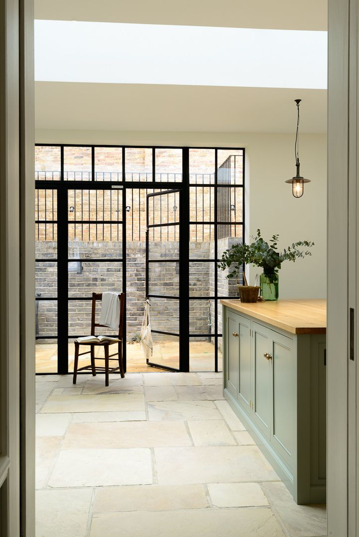 a beautiful view, the Islington N1 Kitchen by deVOL