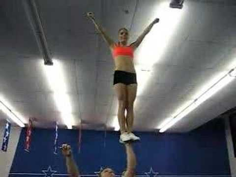 for everyone who says that cheer is not a sport, dont try this at home cause you cant do it