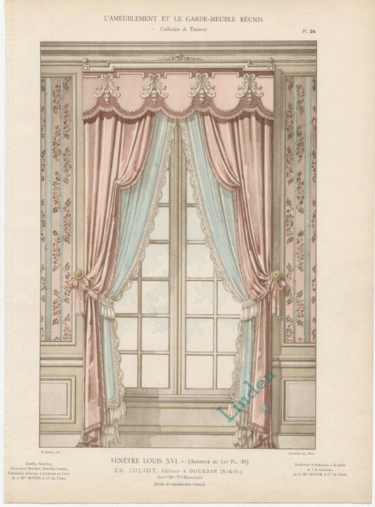 115 best classic curtains images on pinterest for 18th century window treatments