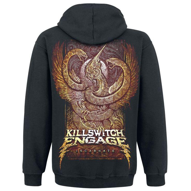 "Felpa uomo ""Incarnate"" dei #KillswitchEngage."