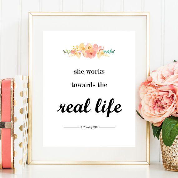 Real Life 8x10 Print JW Pioneer Gift JW Gift by GoldAndSeal