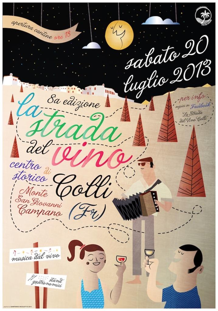 """""""La Strada del Vino"""" - VIII edizione - Gianfranco Nicoletti 2013"""