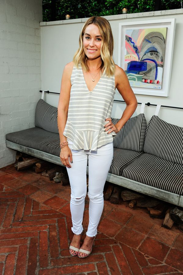 You Can Take Lauren Conrad Out Of Laguna Beach, But You Can't... #refinery29 http://www.refinery29.com/2016/03/106966/lauren-conrad-lookbook-street-style-photos#slide-16 According to Hermann von Helmholtz, this look is science-approved. We love it, too....
