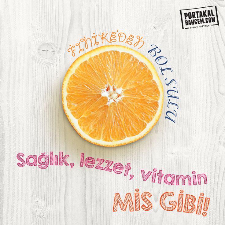 Sezonu kaçırmayın, vitamine hasret kalmayın  :)► http://www.portakalbahcem.com/kategori/dalindan-tazecik-portakal/