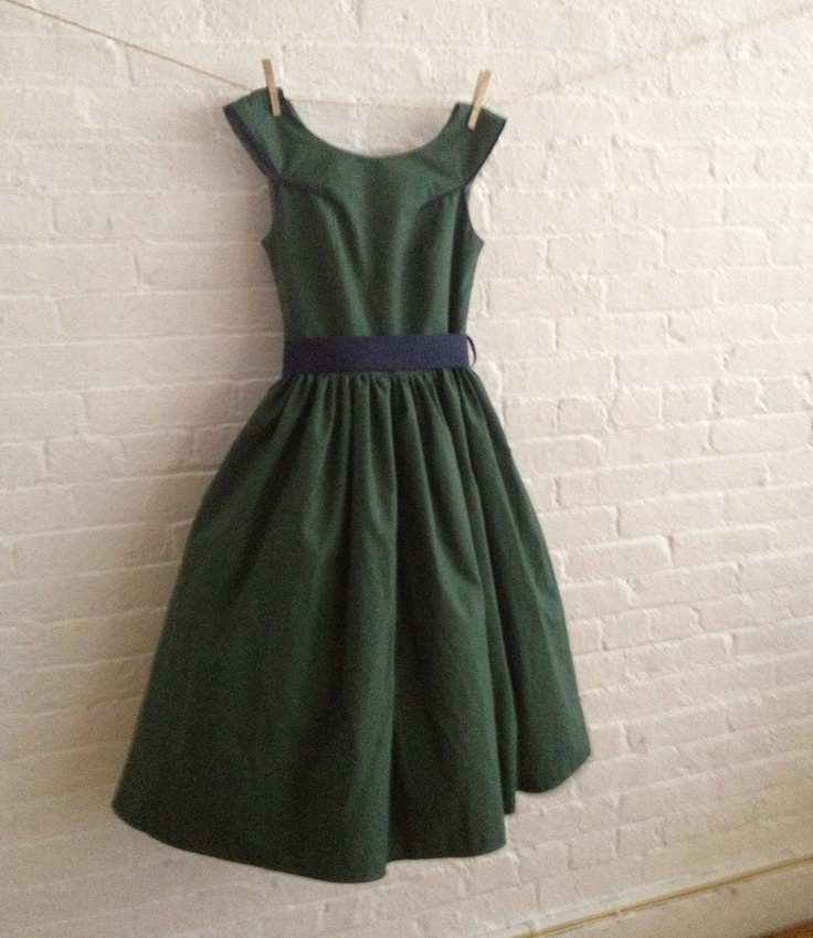 $150 hunter green dress