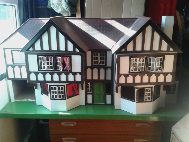 TRI-ANG Large Dolls House No.93 The Stockbroker Circa 1935 in Dolls & Bears, Dolls' Miniatures & Houses, Dolls' Houses   eBay