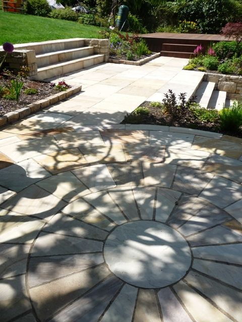 Rhus typhina shade on terrace in Dalkey, co. Dublin - by MAXIMIZE DESIGN