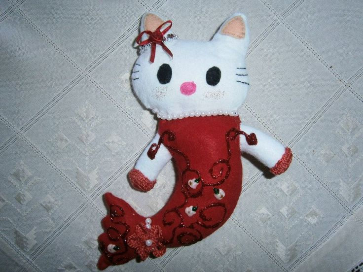 Lia B. Creations: Red Hello Kitty Mermaid