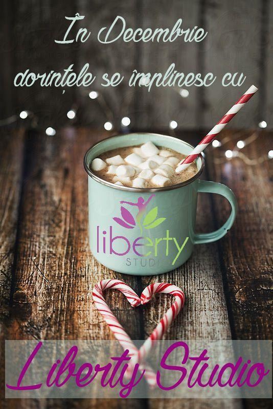 În luna Decembrie dorințele tale se pot împlini cu Liberty Studio. Vino acum în echipa noastră și această lună va fi de neuitat!