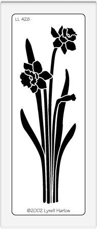 """Long Daffodils - $7.49   Long Daffodils makes a beautiful focal point! Approximately 4 7/8"""" x 1 3/4""""."""