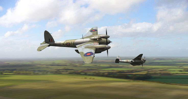 de Havilland DH.98 Mosquito by *jncarter