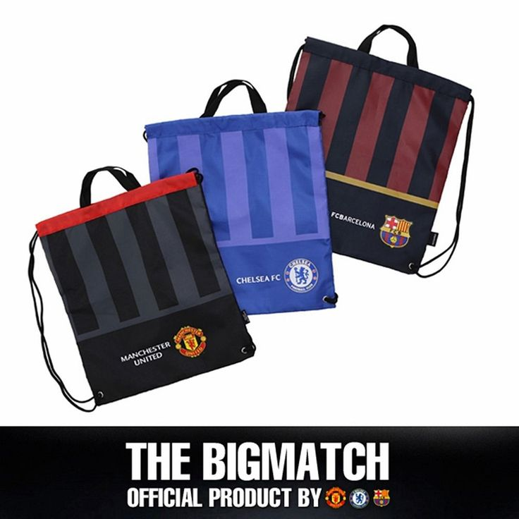 Manchester United  FC Barcelona Official backpack sport EPL assistant bag AC5S01 #Eon #Backpack