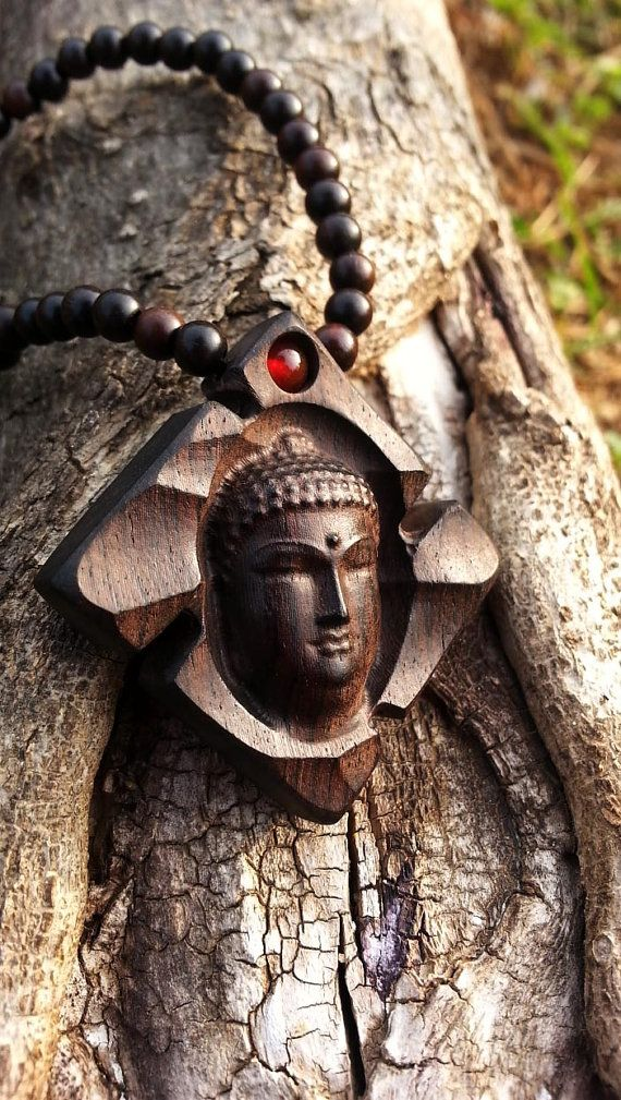 Check out this item in my Etsy shop https://www.etsy.com/listing/400565847/buddhabuddha-necklacewooden