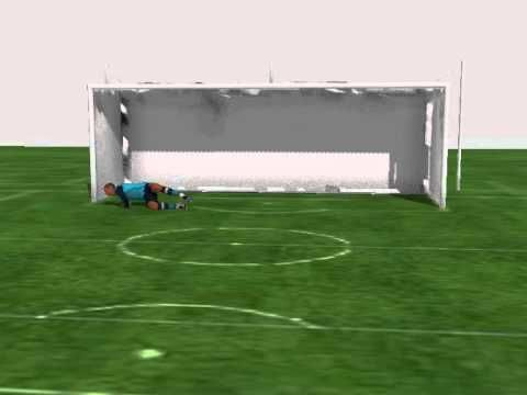 Goalkeeper Animation   Penalty Save