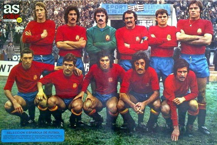 EQUIPOS DE FÚTBOL: ESPAÑA Selección 1970-1978