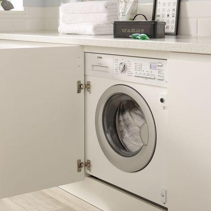 AEG integrated washing machine