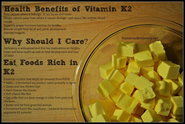 Vitamin K2: The Missing Nutrient You Need While Pregnant!
