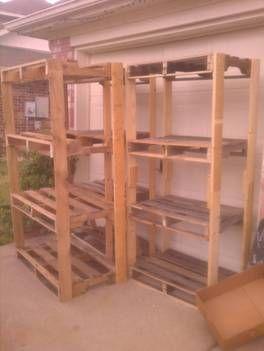 Ryobi Nation - Pallet Shelves for the Garage