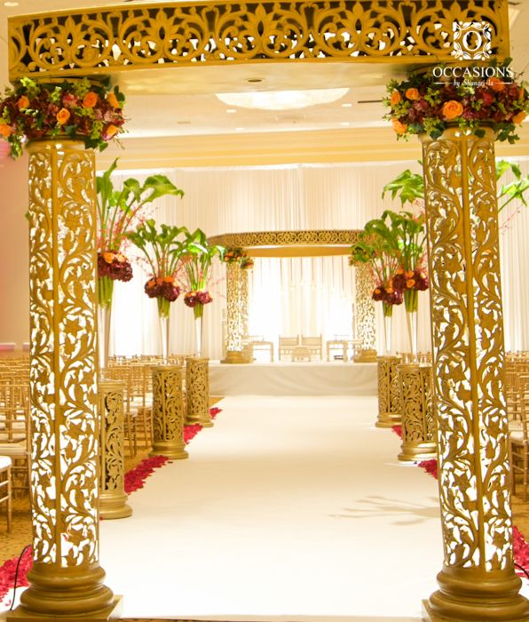 17 best ideas about south asian wedding on pinterest for Asian wedding decoration ideas