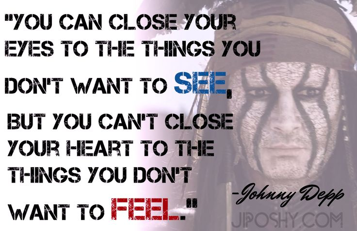 JiPoshy: WHY IS JOHNNY DEPP SO SHY?  #Quotes