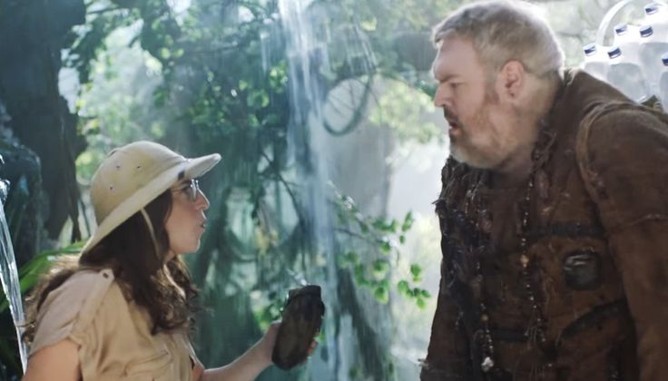 """SodaStream International Ltd. has launched its new environmental global campaign,""""The Homoschlepiens"""". The video released on the 11th July features Mayim Bialik, best known for playing Dr. Amy Farrah Fowler in the hit TV series The Big Bang Theory, and Kristian Nairn, best known as Hodor in Game of Thrones."""