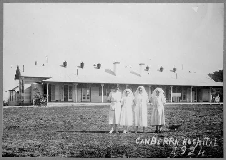 Canberra Hospital in 1924.