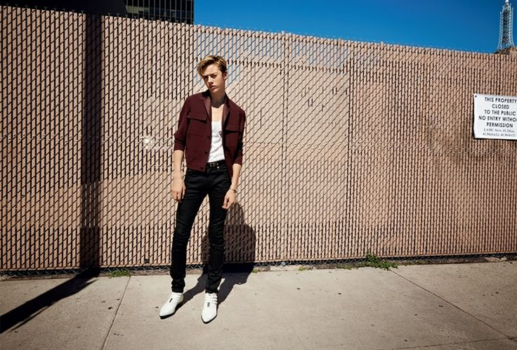 "before you kill us all.: EDITORIAL Arena Homme+ Spring/Summer 2014 ""On the L.A. Make"" Feat. Charlie Matthews, Lucky Blue Smith  Dylan Foske..."