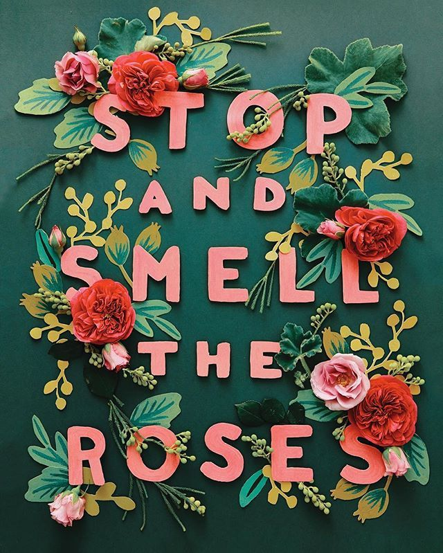 Stop and Smell the Roses! #tbt to the shoot when we brought #riflepaperco products to life ( by @amy_merrick  by @alphamay)