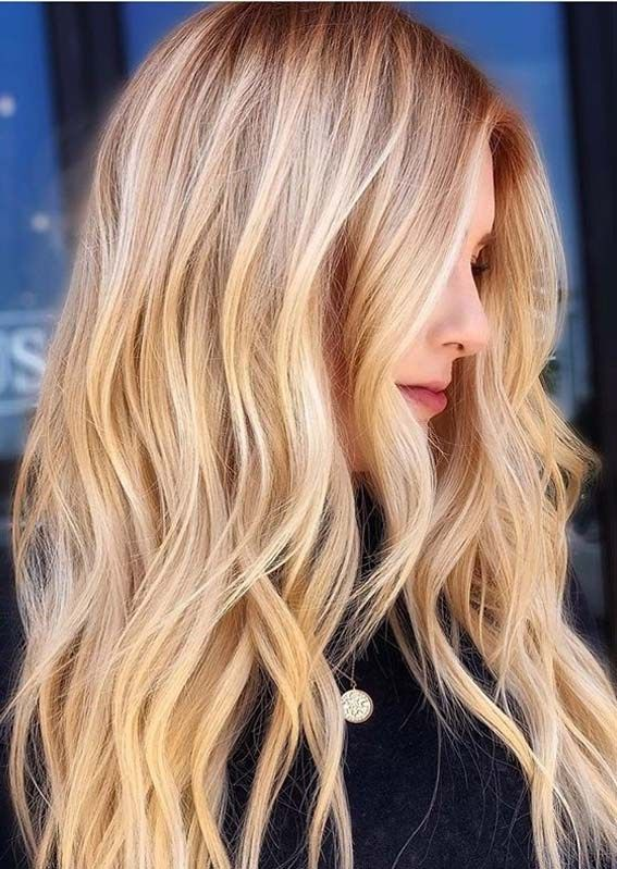Fantastic Golden Blonde Hair Color Shades To Show Off In 2020