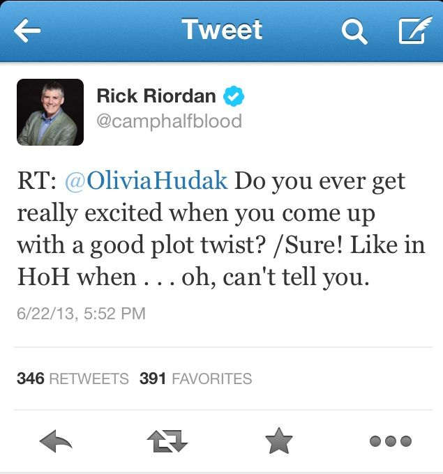 Dam you Rick Riordan!!! What plot twist????!!! Sammy is already Leo's great-grandpa, Percy and Frank are semi-related, and Thalia and Jason are blood-siblings!! WHAT NOW?????!!!!!!