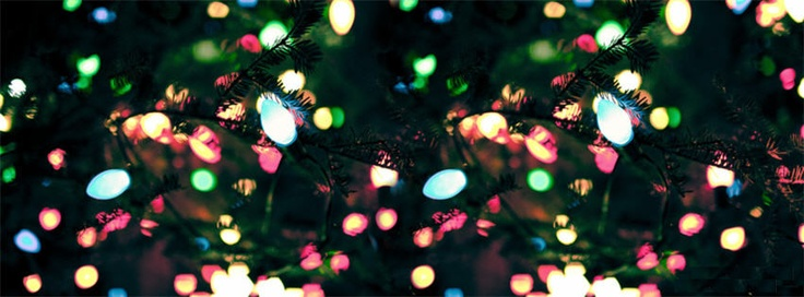 Colorful Christmas Light Facebook Cover Photo | Holiday Ideas ...