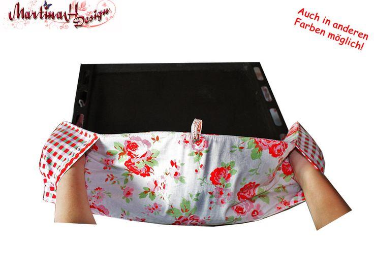 Backhandschuh / Topflappen / Backblechhandschuh von MartinaH-Design auf DaWanda.com