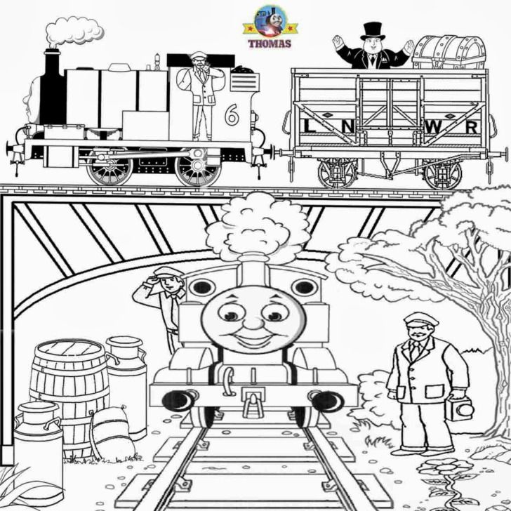 Thomas And Friends The Train Coloring Pages Free Printable Kids Sheets