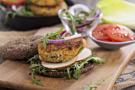 Quinoa Carrot Patties | Trim Down Club