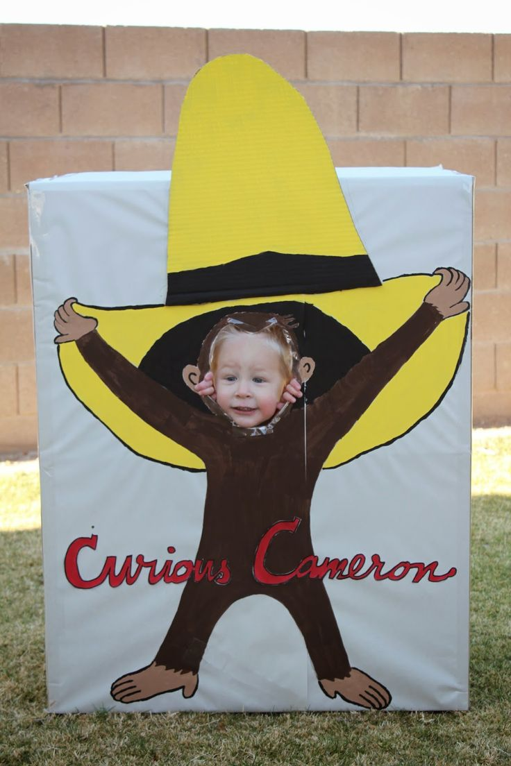 Cute Curious George Birthday Party!