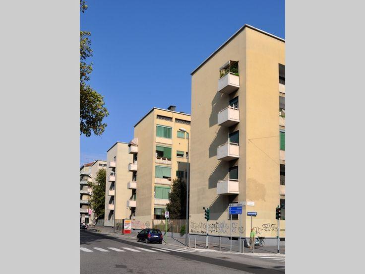 Quartiere IFCP Fabio Filzi - Franco Albini e Milano - itineraries - Ordine degli architetti, P.P.C della provincia di Milano