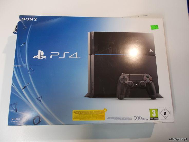 "Konsola PS4 500GB Pad Gwarancja Sony PlayStation 4 - Sklep ""ALFA"" Opole - AlleOpole.pl (Opole)"