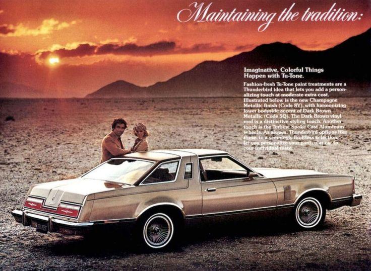 1977 Ford Thunderbird My Second Car Wish I Still Had It But The Valve