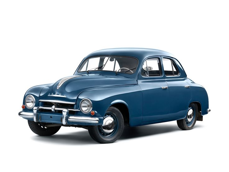 1955-61 Škoda 1201 - I don't know much about Skodas, but I love the styling of some of these models. I find them much more attractive than the modern cars of today.