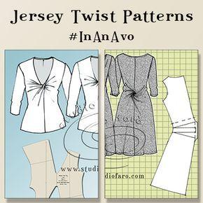 New Dates added for the #JerseyTwistPatterns  #PatternMakingClass #Sydney Get my #KnitBlock!