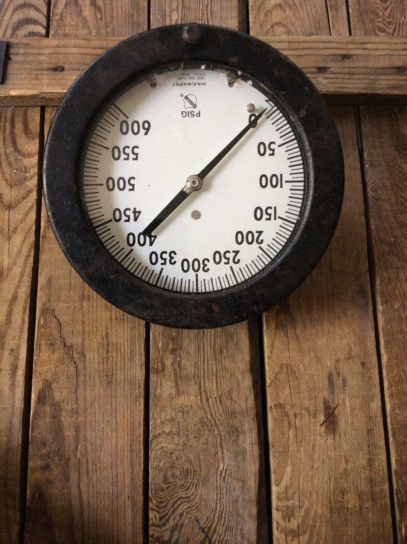 Ashcroft Pressure Gauge 600 psi Steam Gauge Pressure by Faremo