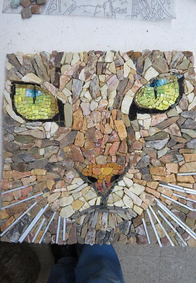 Resultado De Imagen Para Flores Mosaiqueadas Mosaicos Mosaico