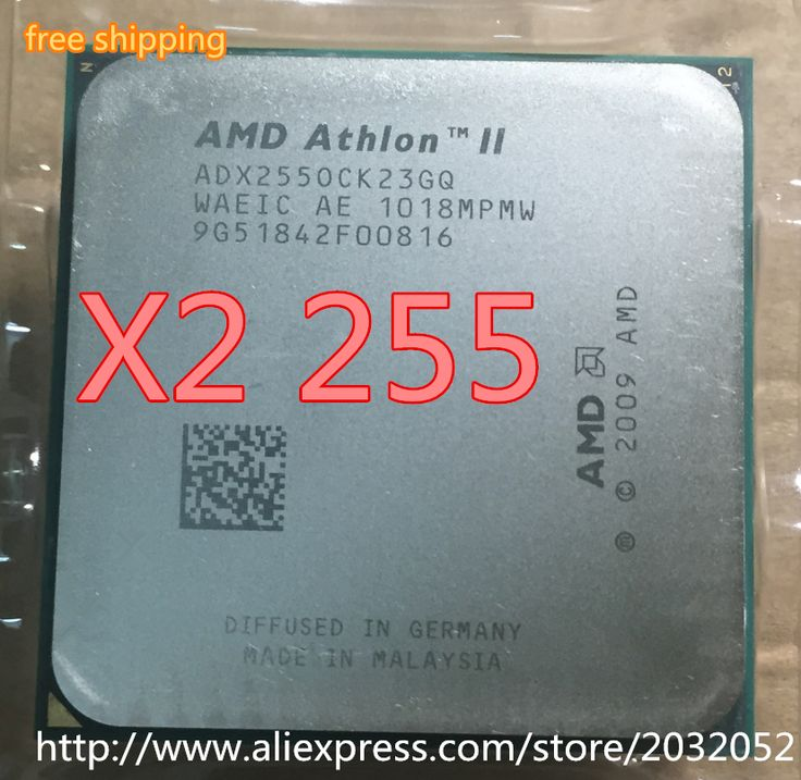 AMD Athlon II X2 255 processor (3.1GHz/2MB L2 Cache /Socket AM3) Dual-Core scattered pieces cpu (working 100% Free Shipping) #women, #men, #hats, #watches, #belts, #fashion, #style
